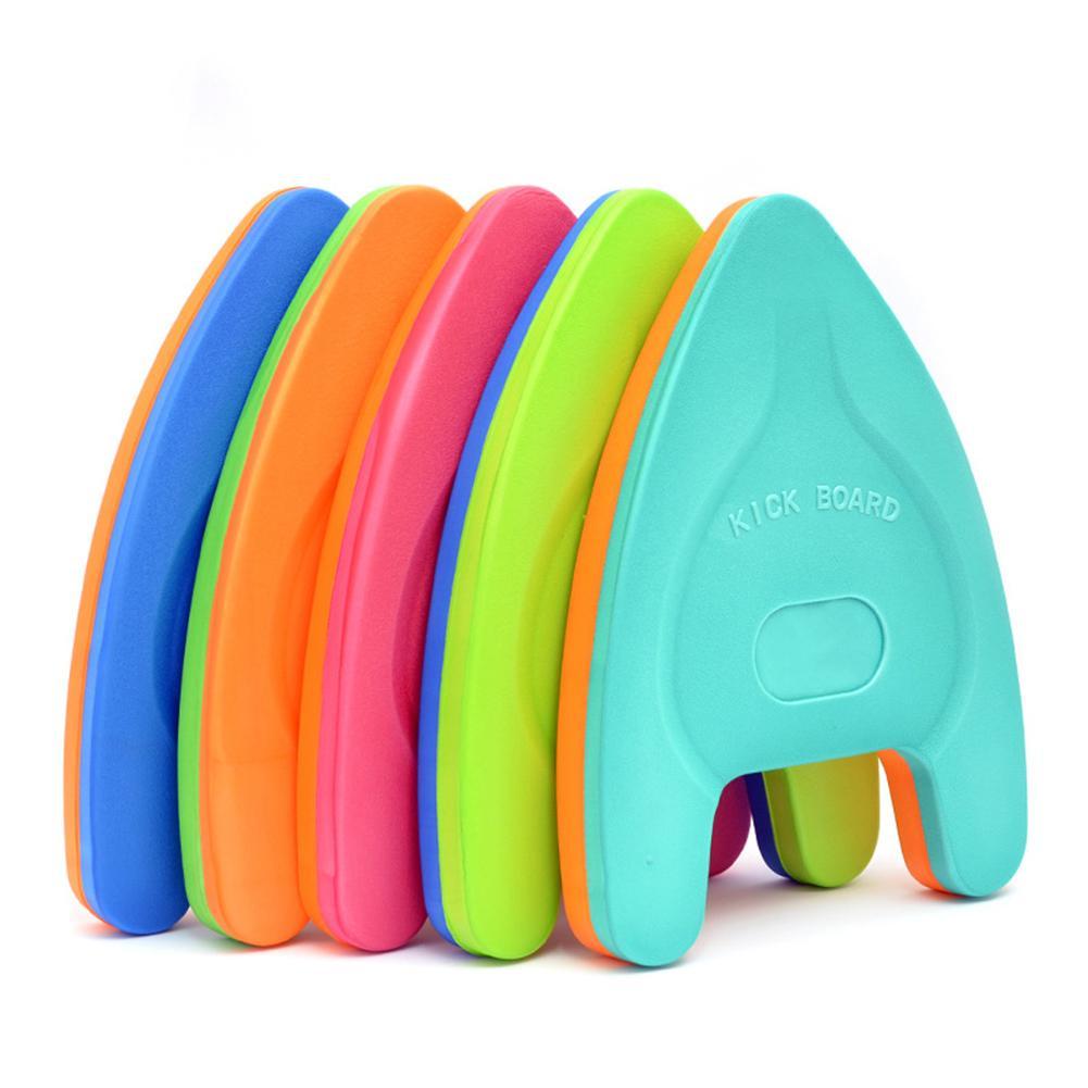 Новые легкие в Форма EVA плавательные доски, плавающие пластины сзади плавать Kickboard бассейн учебное пособие инструменты для взрослых и детей