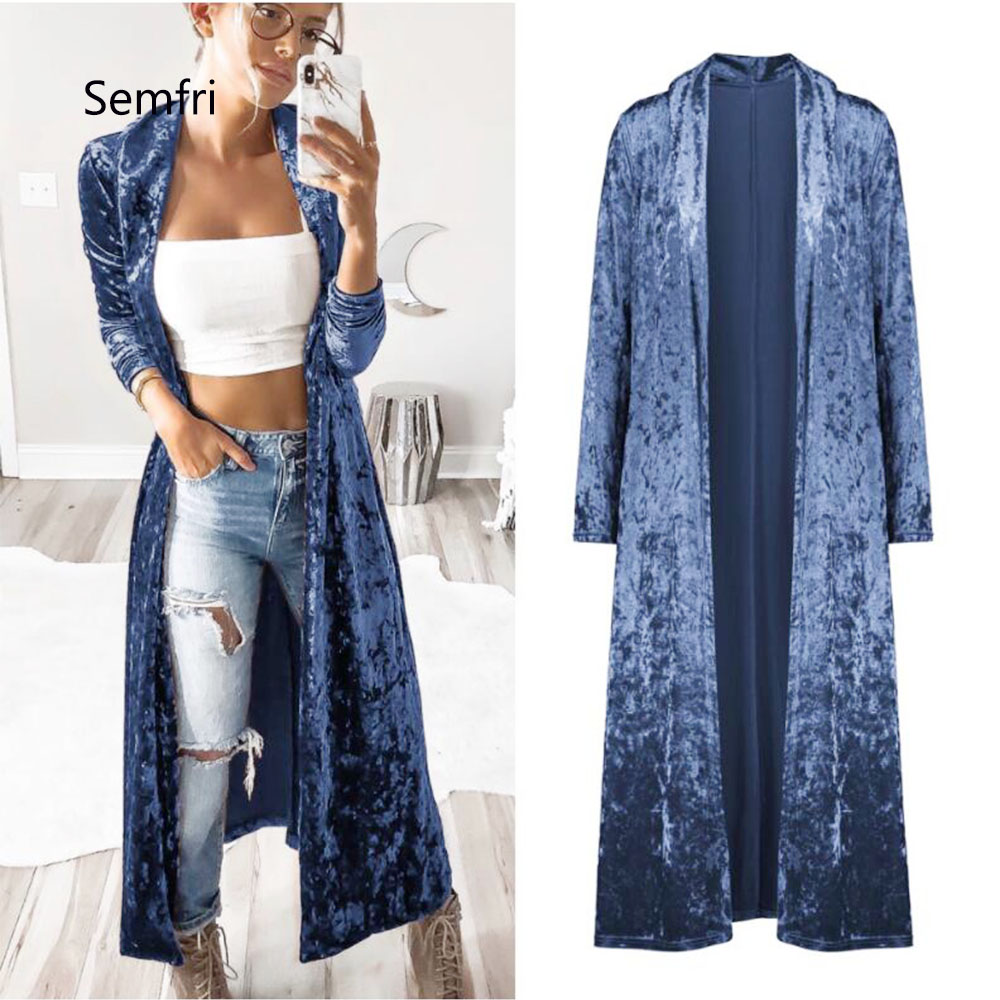 Semfri Long Cardigan Winter Autumn Women Fashion Loose Open Stitch Coat Solid Streetwear 2019 Fashion Jacket Semfri Long Cardigan Winter Autumn Women Fashion Loose Open Stitch Coat Solid Streetwear 2019 Fashion Jacket Korean Stytytle