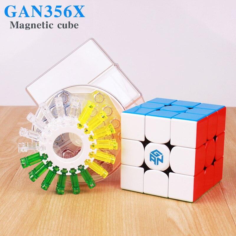 GAN 356 X Cubes magiques magnétiques professionnel Gan 356x Cube de vitesse aimants Cube Puzzle néo Cubo Magico gans 356 X en Stock - 3