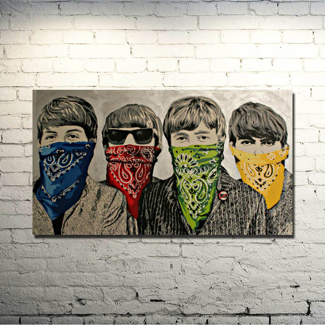 Graffiti Street Art Silk Fabric Poster 13×24 24×43 Inches Artwork Print Pictures Room Wall 063