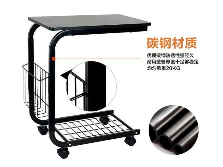 Portable Mutil-purpose Movable Anti-Slip Notebook Computer desks Laptop Desk 120 45cm portable bedside notebook table mutil purpose rremovable computer desk lazy laptop desk children study desk with wheels