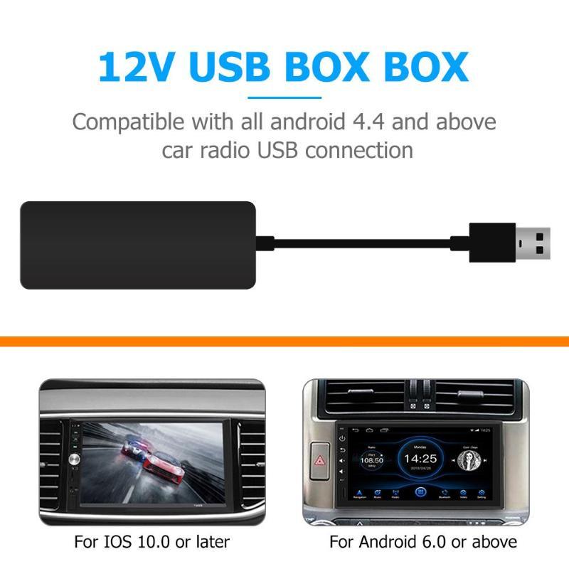 Carlinkit sans fil Smart Link Apple CarPlay Dongle pour Android Navigation lecteur Mini USB Carplay Stick avec Android Auto Gongle