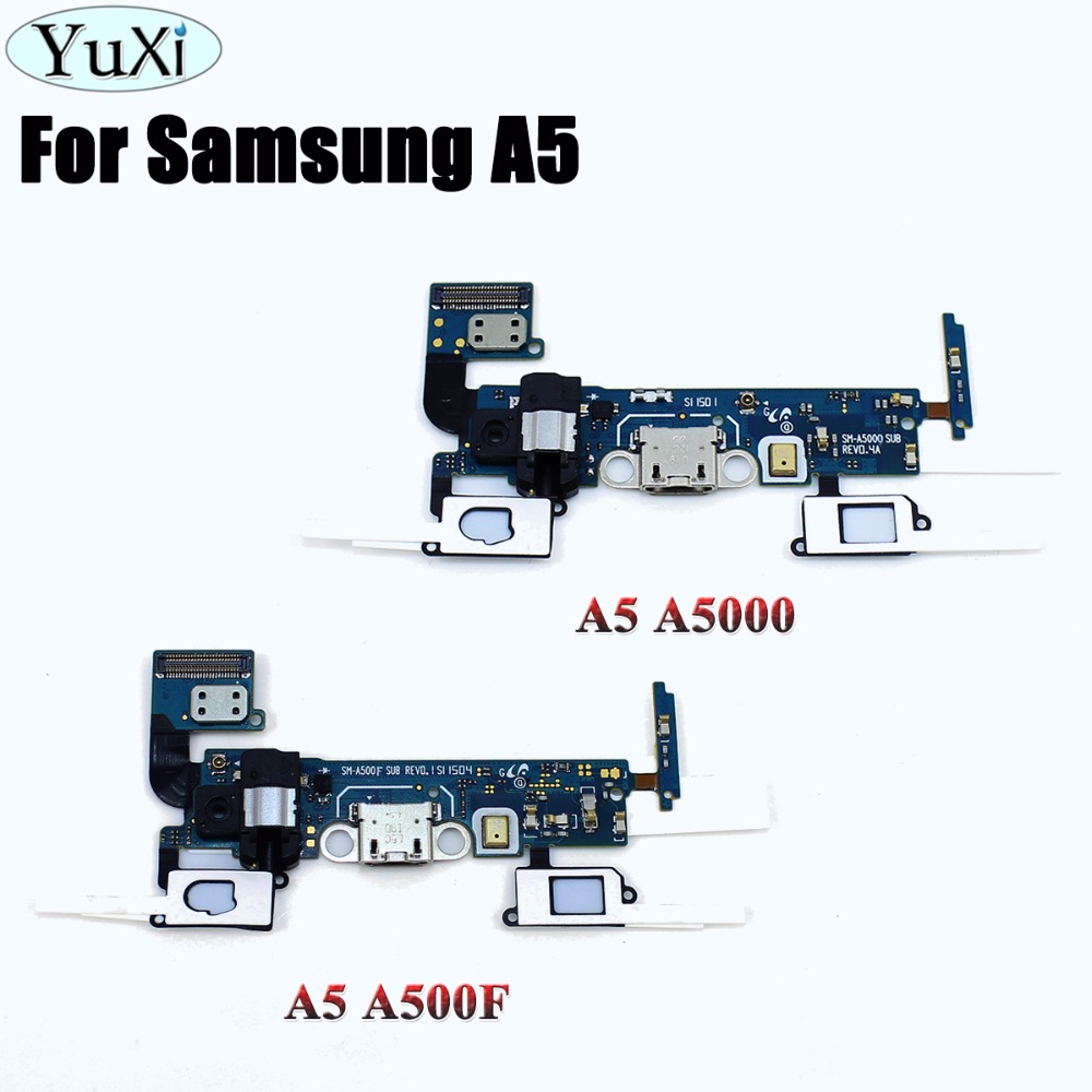 YuXi Sensor Headphone Jack Flex Cable USB Dock Connector Charging Port Flex Cable For Samsung Galaxy A5 SM-A500F A500F A5000