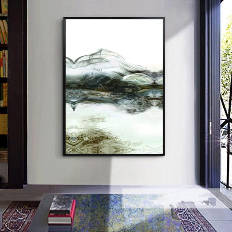 Σύγχρονη αφηρημένη ζωγραφική - Διακόσμηση σπιτιού - Φωτογραφία 1