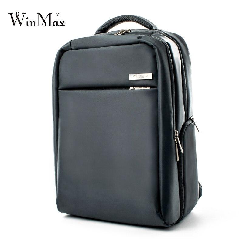 Winamx Brand nylon Backpack Men women Unisex Light Slim Minimalist Fashion Backpack Women 14