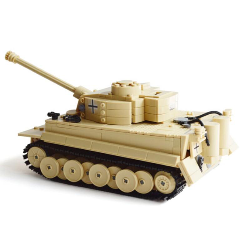 995pcs-Century-Military-Building-Blocks-German-King-Tiger-Tank-Model-Enlighten-Blocks-Education-Toys-Compatible-TY0052 (5)
