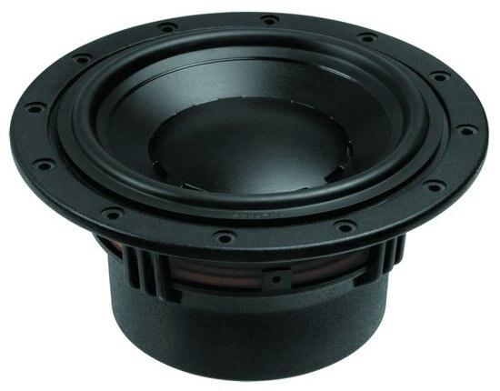 1PCS Original HiVi Research D6.8B 6-1/2'' Midrange Speaker Driver Unit Casting Aluminum Frame 8ohm 120W