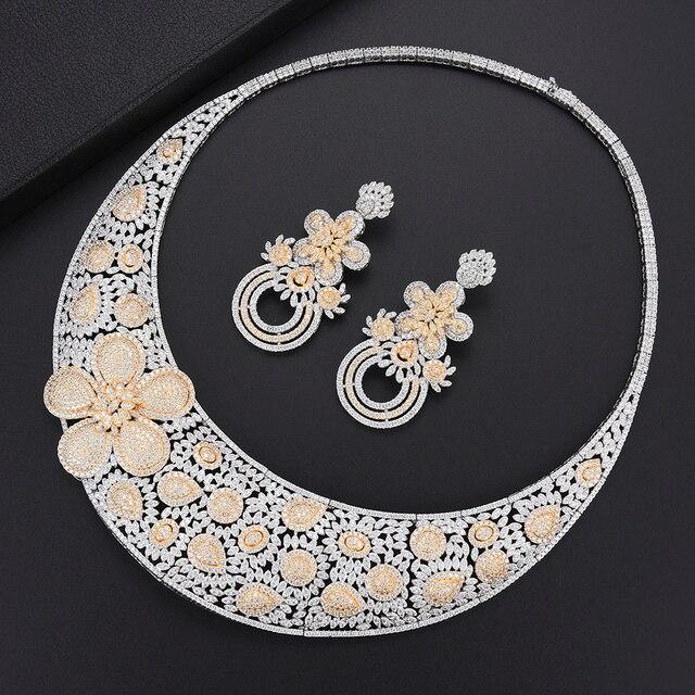 Luxury Flower turkish jewelry set 2