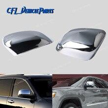 Chrome Buitenspiegel Cover 82212218 Voor Jeep Grand Cherokee 2011 2012 2013 2014 2015 2016 2017 2018 Voor Dodge Durango