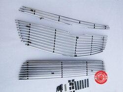 Wysokiej wysokiej jakości aluminium ze stopu przedni grill około wykończenia Racing grille tapicerka dla 2009-2012 Cruze