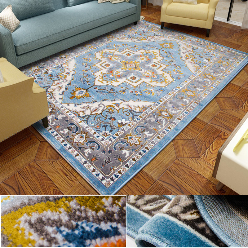100% Polypropylene Nordic 240x340CM Modern Large Carpets For Living Room Bedroom Rugs Home Soft Thick Sofa Floor Mat Area Rugs