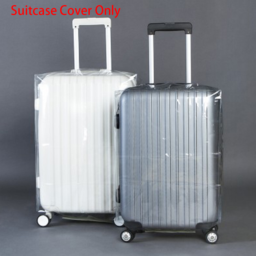 Hot 20/22/24/26/28 Transparent Luggage Cover Waterproof Suitcase Cover Travel PVC Thickening Dustproof Protective Cover #H12^