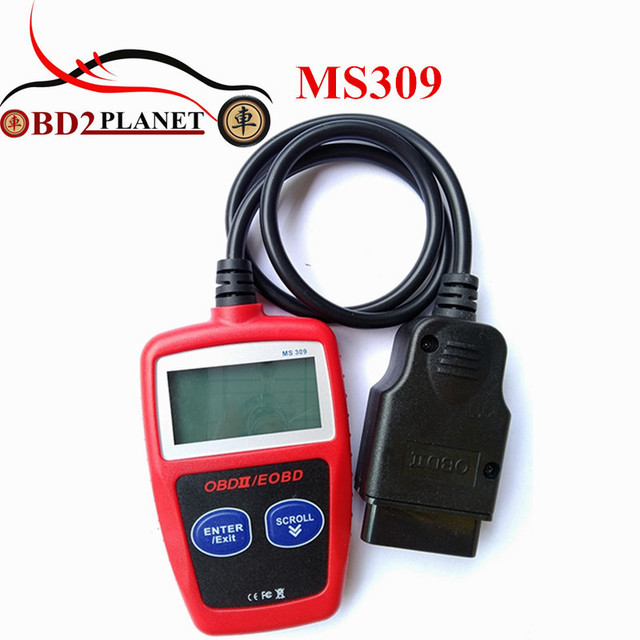 Super MaxiScan MS309 CAN BUS OBD2 Code Reader OBDII Car Diagnostic Tool MS 309 Code Scanner Fast Shipping