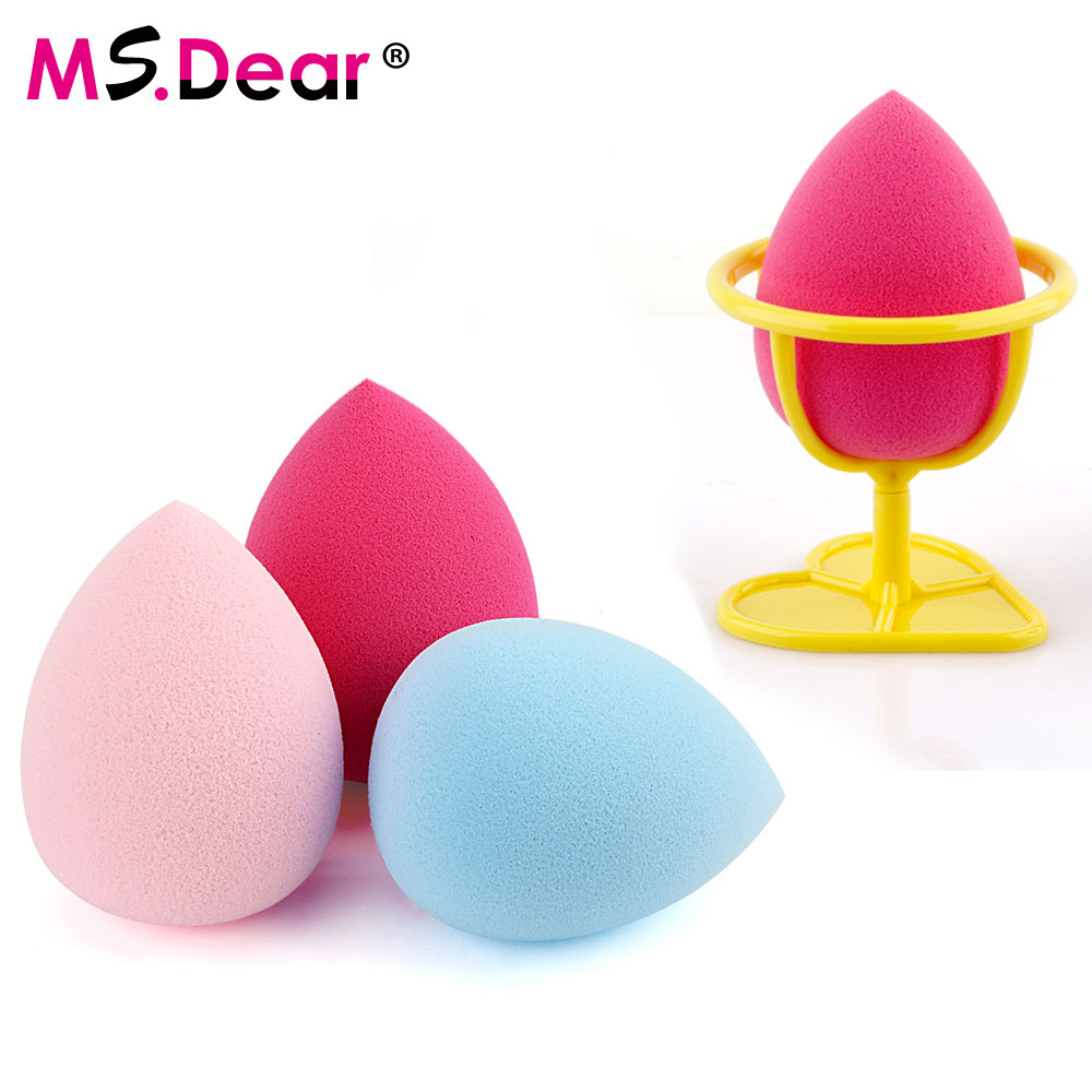 Makeup Foundation Sponge Puff Flawless Powder Blender Blending Cosmetic Smooth Beauty Make Up Tool Foundation Beauty with Holder makeup sponge blender blending puff flawless powder foundation make up sponge cosmetics maquiagem pinceaux de maquillage