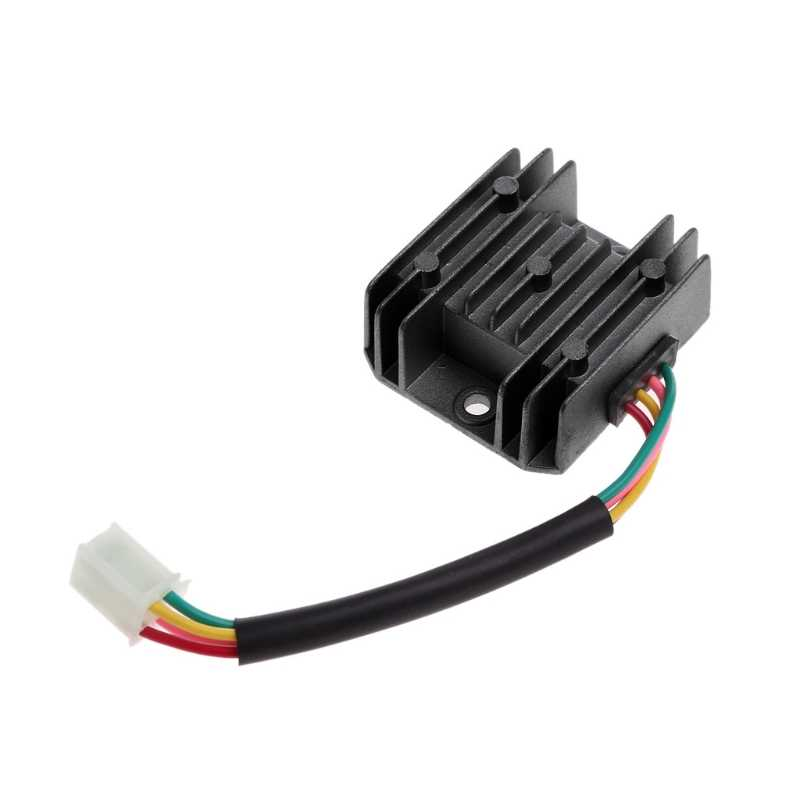 4 Wires 12V Voltage Regulator Rectifier for Motorcycle Boat Motor Mercury on