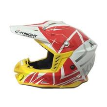 Nueva llegada de la marca caballero casco profesional casco de carreras de motos de motocross atv off-road casco de moto casco bici de la suciedad