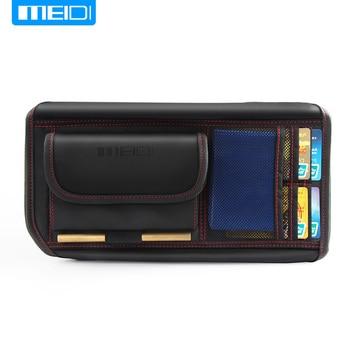 MIEDI visera de sol del coche bolsa de almacenamiento organizador de arranque del coche de almacenamiento soporte Multi-uso de herramientas organizador de tarjeta IC móvil teléfono de vidrio de Sun