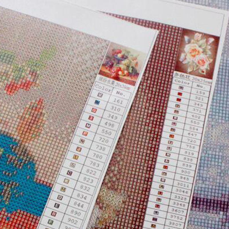 Kids Gift 5D DIY Diamond Embroidery Japanese cartoon Square Rhinestone Sets Full Diamond Painting Cross Stitch Needlework in Diamond Painting Cross Stitch from Home Garden