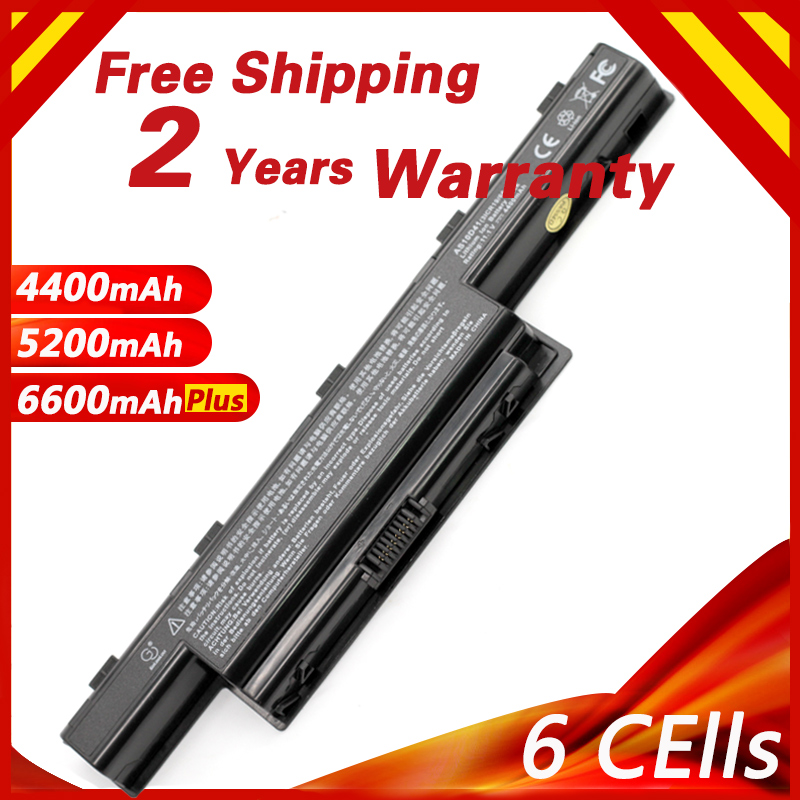 High Capcity Laptop Battery For ACER  AS10D31 AS10D41 AS10D51 AS10D61 AS10D71 AS10D75 AS10D81 AS10G3E 5742G 5552G 5750G 5741