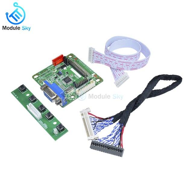 """Высококачественный MT561-B Универсальный LVDS ЖК-контроллер плата комплект ноутбука ЖК-экран пульта водителя монитор 5 в 10 """"-42"""" части компьютера"""