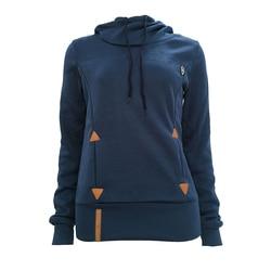 Autumn Harajuku Hoodies Women Loose Hooded Scarf Collar Pocket Pullovers Female Long Sleeve Cotton Sweatshirts Plus Size 30** 4