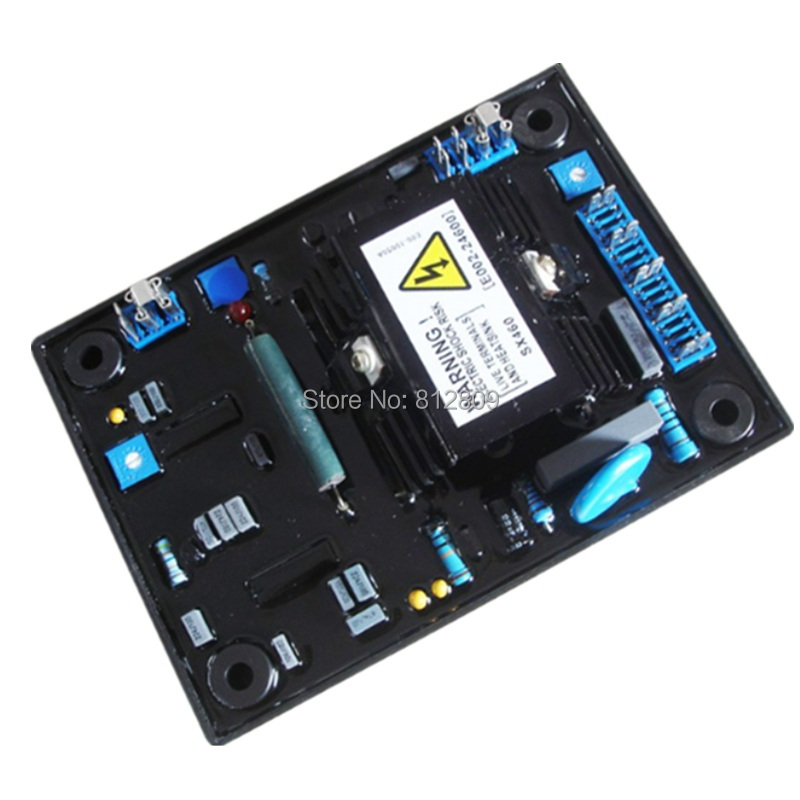 AVR SX460 automatic voltage regulator + FREE FAST SHIPPING (DHL,TNT ,UPS ,FEDEX,.....)(5PCS/LOT) avr sx460 new black automatic voltage regulator avr sx 460 blue capacity free shipping tnt fedex dhl