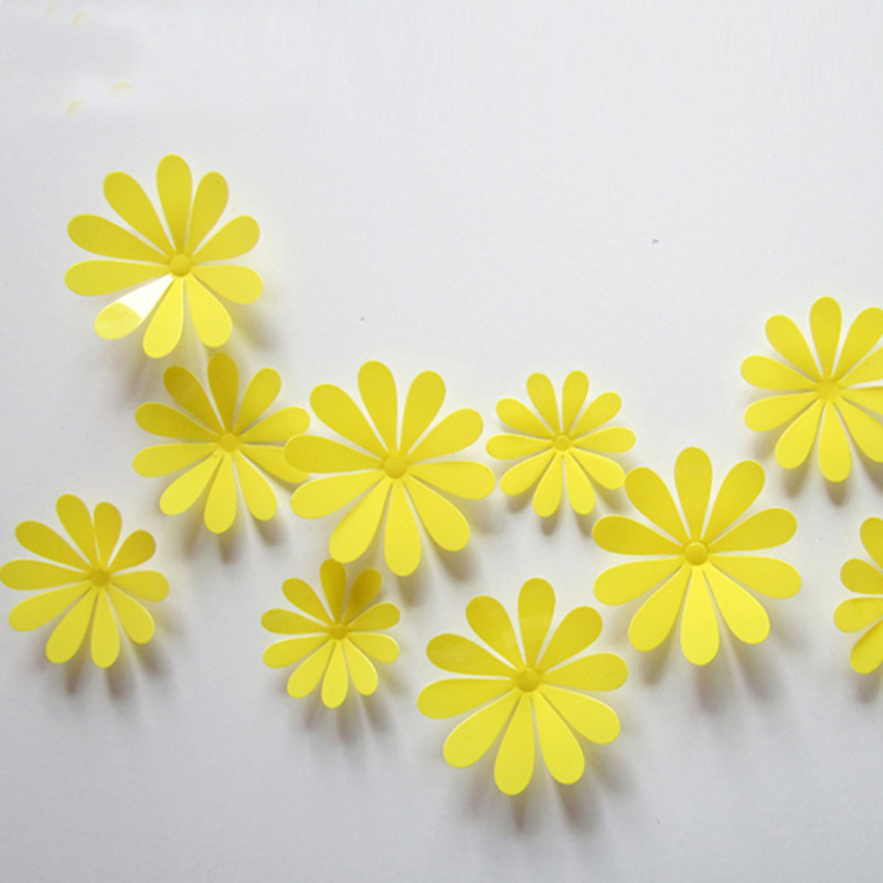 Amazing Wall Flower Decorations Illustration - Wall Art Design ...