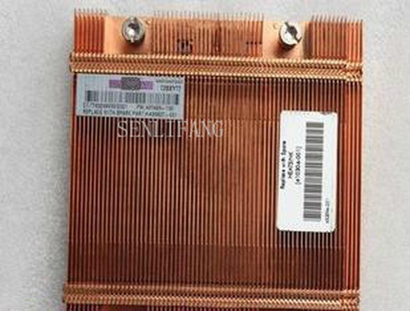 Free Shipping BL460C 410304-001 Heatsink Cooler 409495-001 Server Heatsink BL460c G1 BLADE BL460C XW460C Server Radiator
