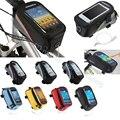 "6.0"" inch Bike Bicycle Phone Holder Waterproof Bag Mount for Huawei Mate 9/Meizu pro 6 plus/Xiaomi mi note 2/Nexus 6p/LG V20/V10"