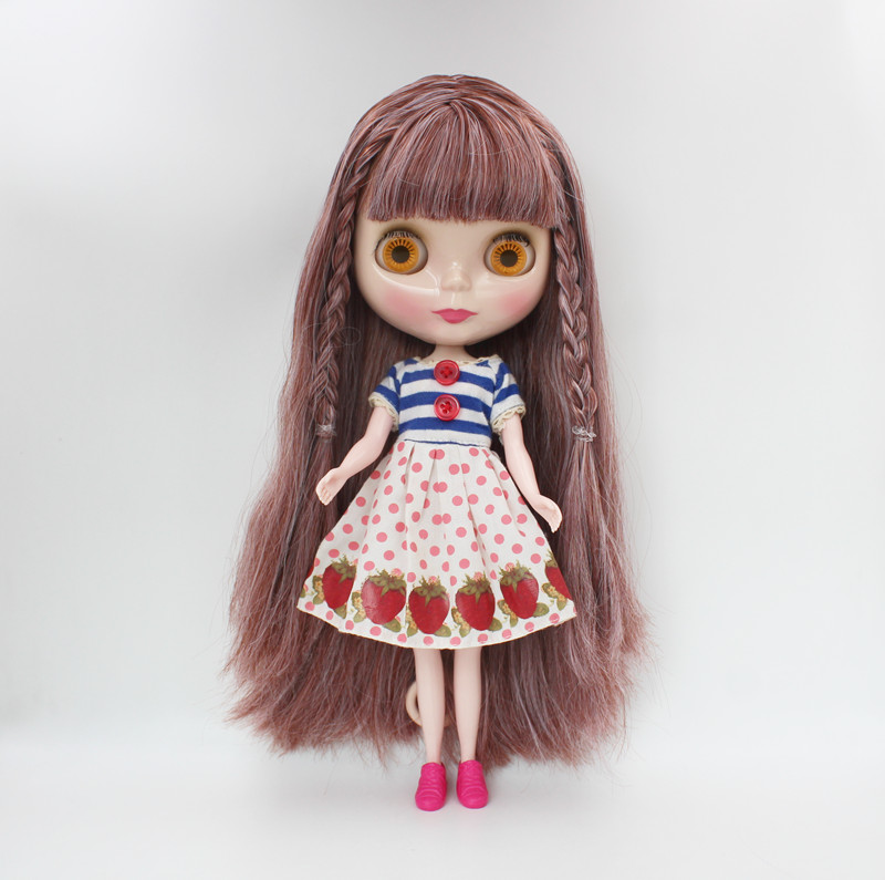Free Shipping big discount RBL-731 DIY Nude Blyth doll birthday gift for girl 4colour big eye doll with beautiful Hair cute toyFree Shipping big discount RBL-731 DIY Nude Blyth doll birthday gift for girl 4colour big eye doll with beautiful Hair cute toy