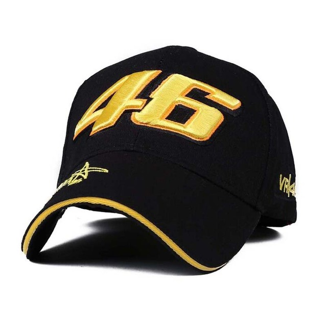 Design F1 Racing Cap Car Motocycle Racing MOTO GP VR 46 Rossi Embroidery  Hiphop Cotton Trucker c478464f951