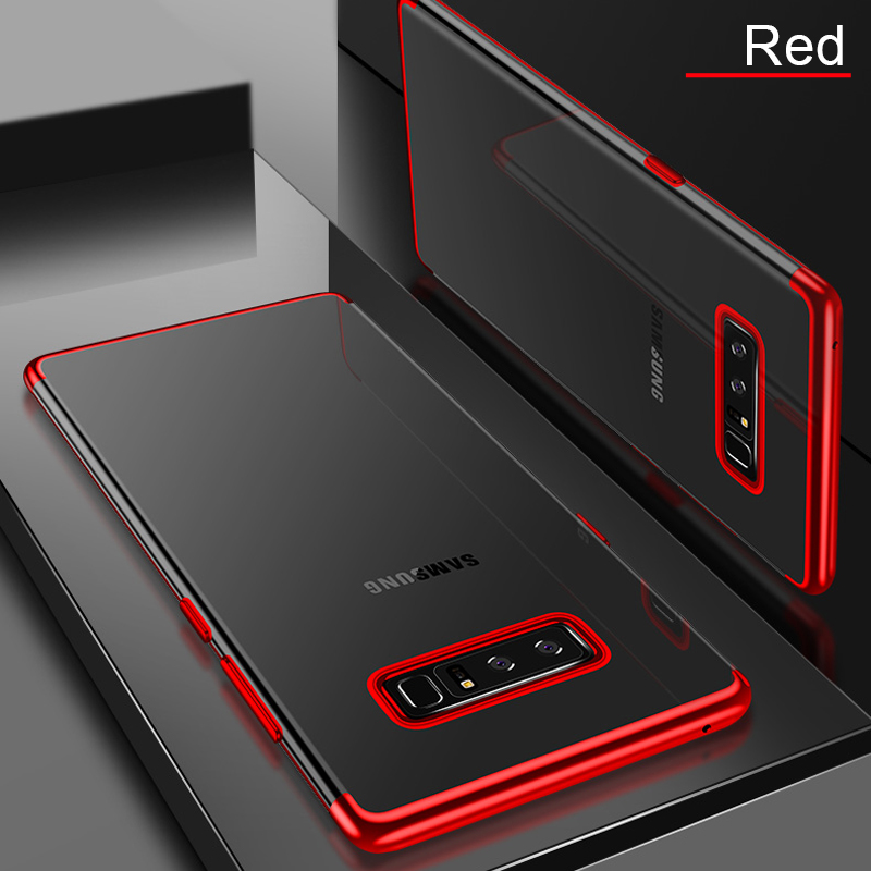 For Samsung Galaxy S10 Note 10 plus Case 3D Laser plating Soft Clear Cover Case For Samsung S10 Plus Phone Cases Fundas in Fitted Cases from Cellphones Telecommunications