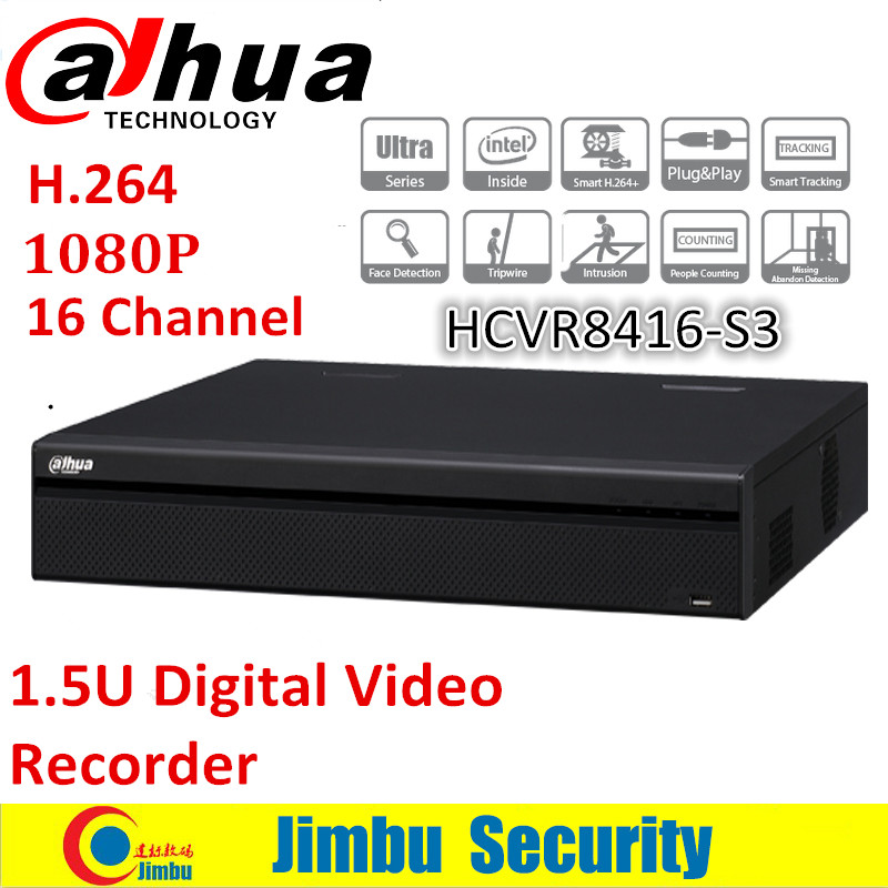 Dahua 1080P 1.5U Smart Search and Intelligent Video system Video Recorder 16 Channel  DH-HDCVR8416L-S3 OEM H.264 without logo narinder kumar sharma h p singh and j s samra poplar and wheat agroforestry system