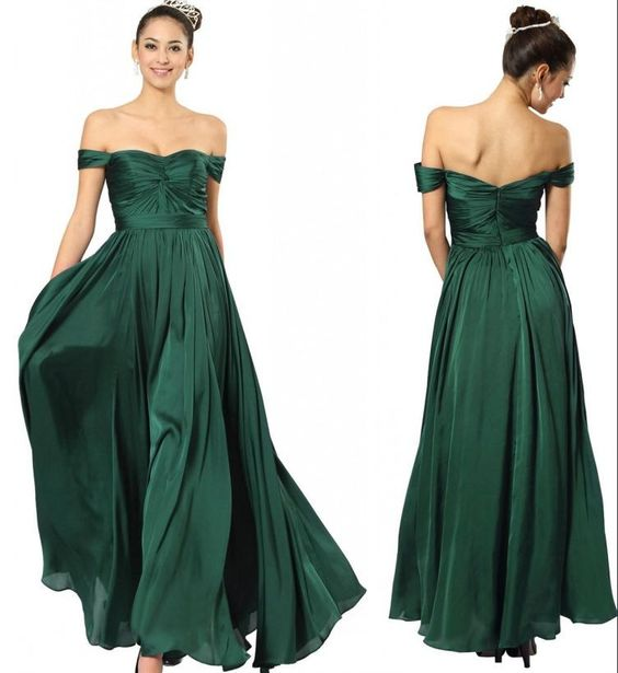 Mismatched Bridesmaids In Emerald Love This Look