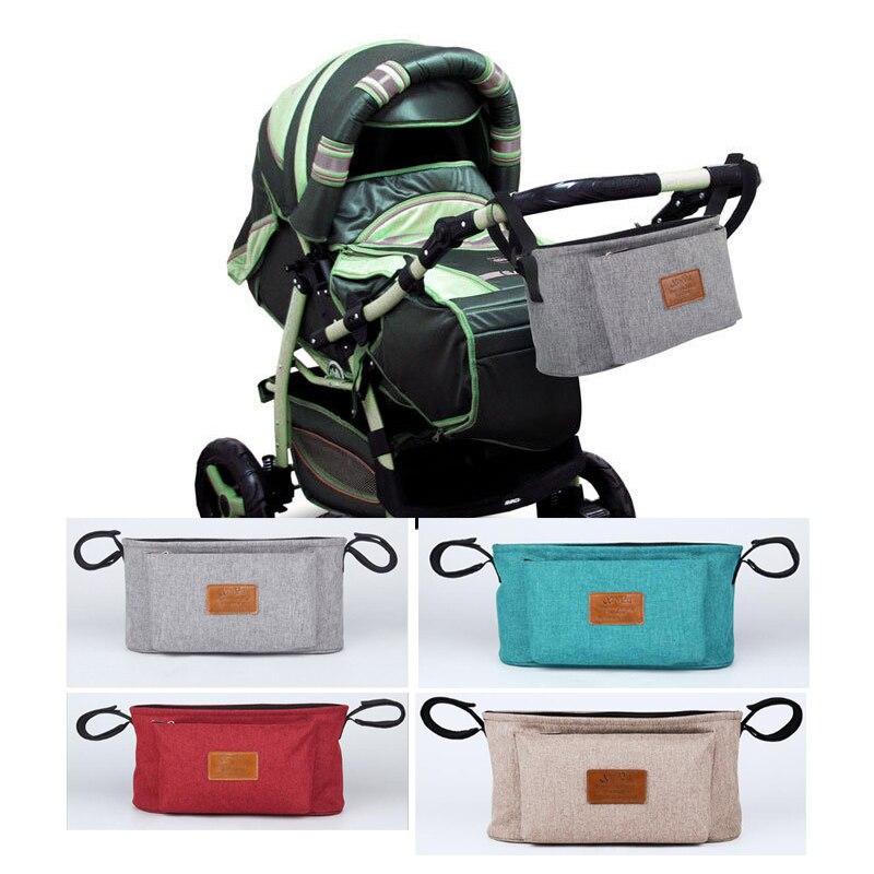 цена на BELECOO Baby Stroller Accessoris Bag New Cup Bag Stroller Organizer Baby Carriage Pram Buggy Cart Bottle Bag Car Bag Yoya