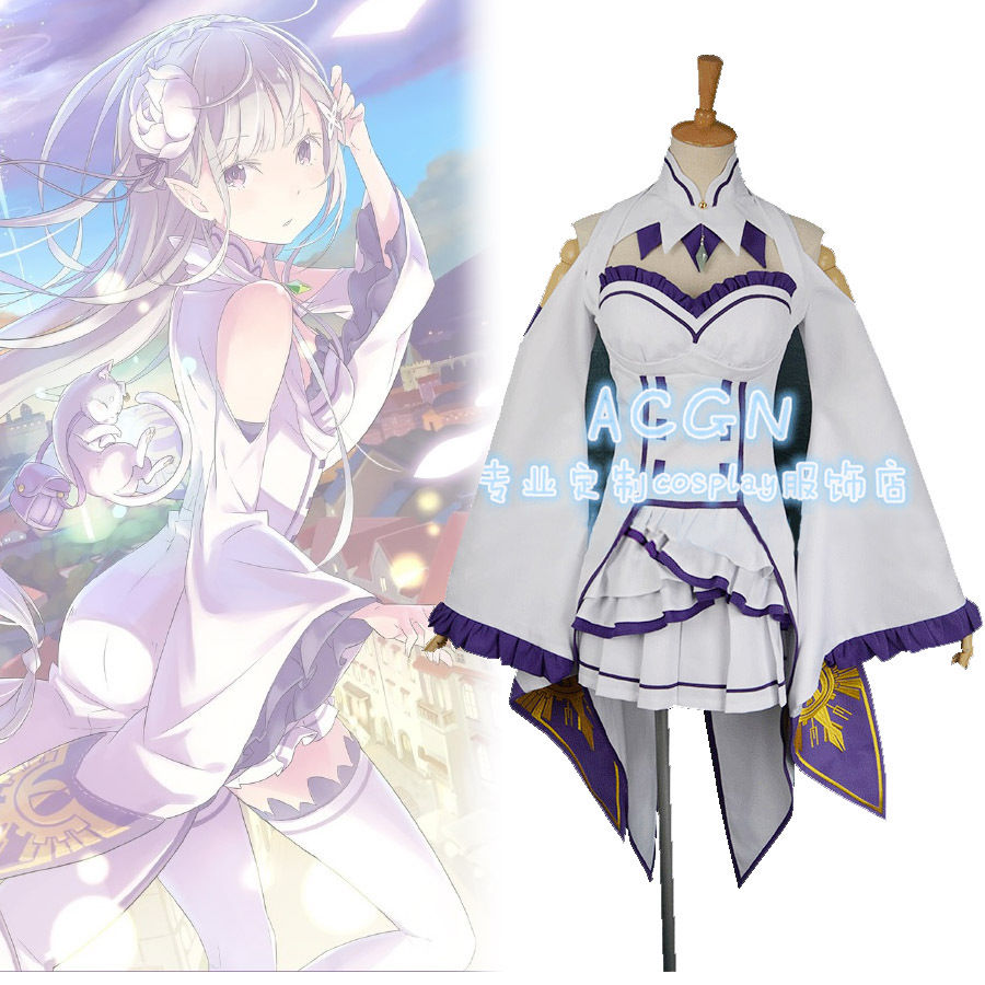 Re:Zero Kara Hajimeru Isekai Seikatsu Emilia Cosplay