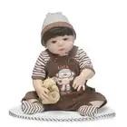 Прекрасный коричневый мальчик Маскоты костюм Маскоты te парень Маленький мальчик молодой человек с небольшой коричневая шляпа коричневый в... - 3