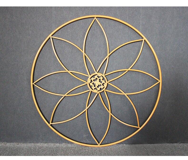 Модные металлические цветы держатель венок свадебный реквизит декоративная ваза для цветов Декорации для фотосессии - 3