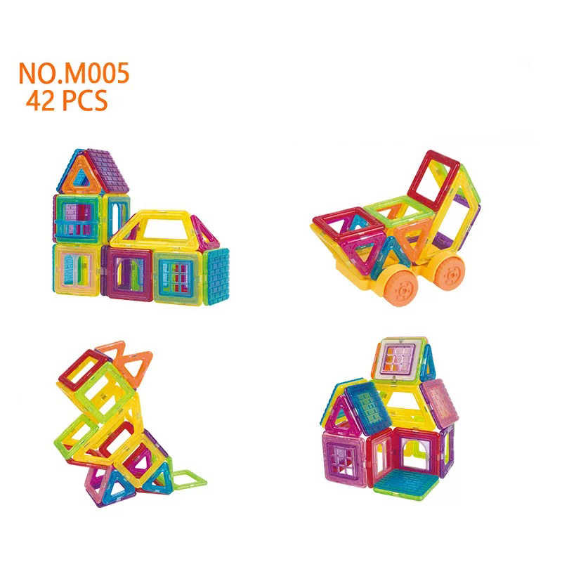 Mylitdear мини Магнитные строительные блоки Набор обучающих игрушек магнитные плитки для малышей строительные блоки Набор для детей сильные магниты