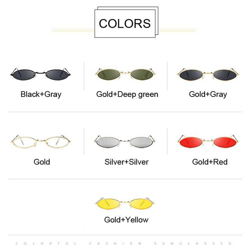 84ddcb9c16 ... Retro Black Round Sunglasses for Women Men Small Oval Alloy Frame  Summer Style Unisex Sun Glasses