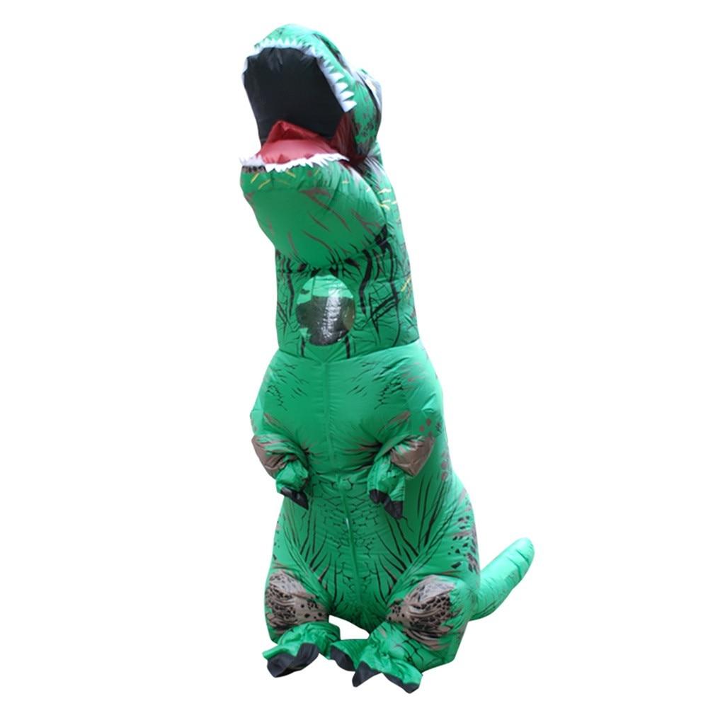 Inflable T-Rex dinosaurio  traje de fiesta juguetes al aire libre juego educativos niños 31