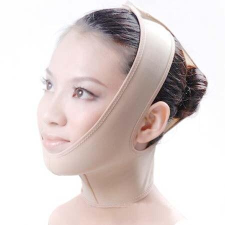 מסכת הגנת צוואר עיסוי פנים עיסוי בריאות תחבושות סנטר כפולה הרזיה דקה מסיכת הפנים מסכת טיפול מרגיע