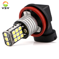 2PCS Xenon White 2835 21SMD Canbus High Power H11 H8 LED Bulbs For Fog Lights Driving Lamps