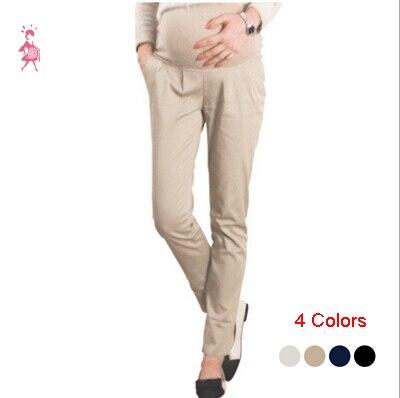 Long maternity dress pants