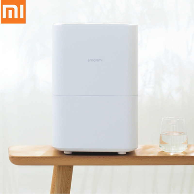 Xiaomi Smartmi pur humidificateur d'air évaporatif 2 évaporation automatique de l'eau diffuseur d'arôme huile essentielle MIJIA APP contrôle 4L