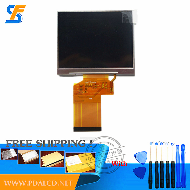 """Оптовая """"оригинальный Новый 3.5"""" 7-дюймовый HD TFT ЖК-экран для Satlink WS-6906, Satlink WS 6906 Satellite Finder ЖК-Экран"""
