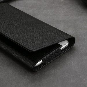 Image 5 - جراب من الجلد الأصلي لهاتف آيفون 11 12 برو XS Max حافظة حافظة يونيفرسال الحافظة لهاتف آيفون XR 6 7 8 Plus SE 2020 حافظة للجيب