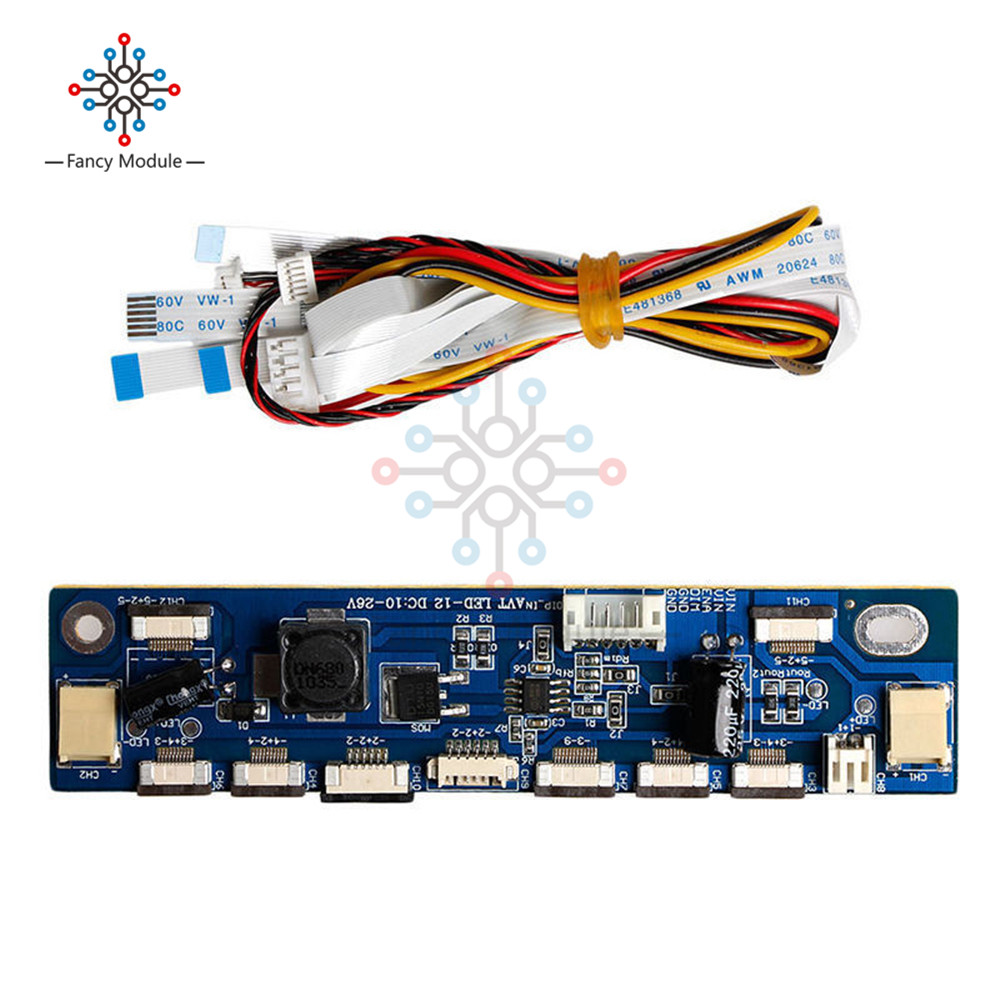 цена Multifunction Inverter for Backlight LED Constant Current Board Driver Board 12 connecters LED Strip Tester