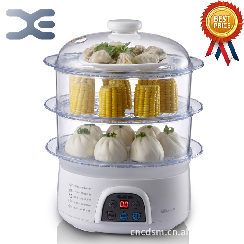Пароварка Электрический Пароварка еда булочка теплее еда теплее кухонные приборы на пару
