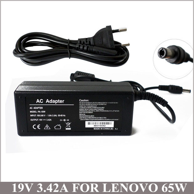 <font><b>19V</b></font> 3.42A 65W <font><b>Notebook</b></font> AC <font><b>Adaptor</b></font> Laptop Charger Plug For Lenovo IBM PA-1650-52LC G570 B575 B470 G570 B570 B575 G575 image